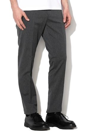 Gant, Официален панталон с вълна, Тъмносив, 50
