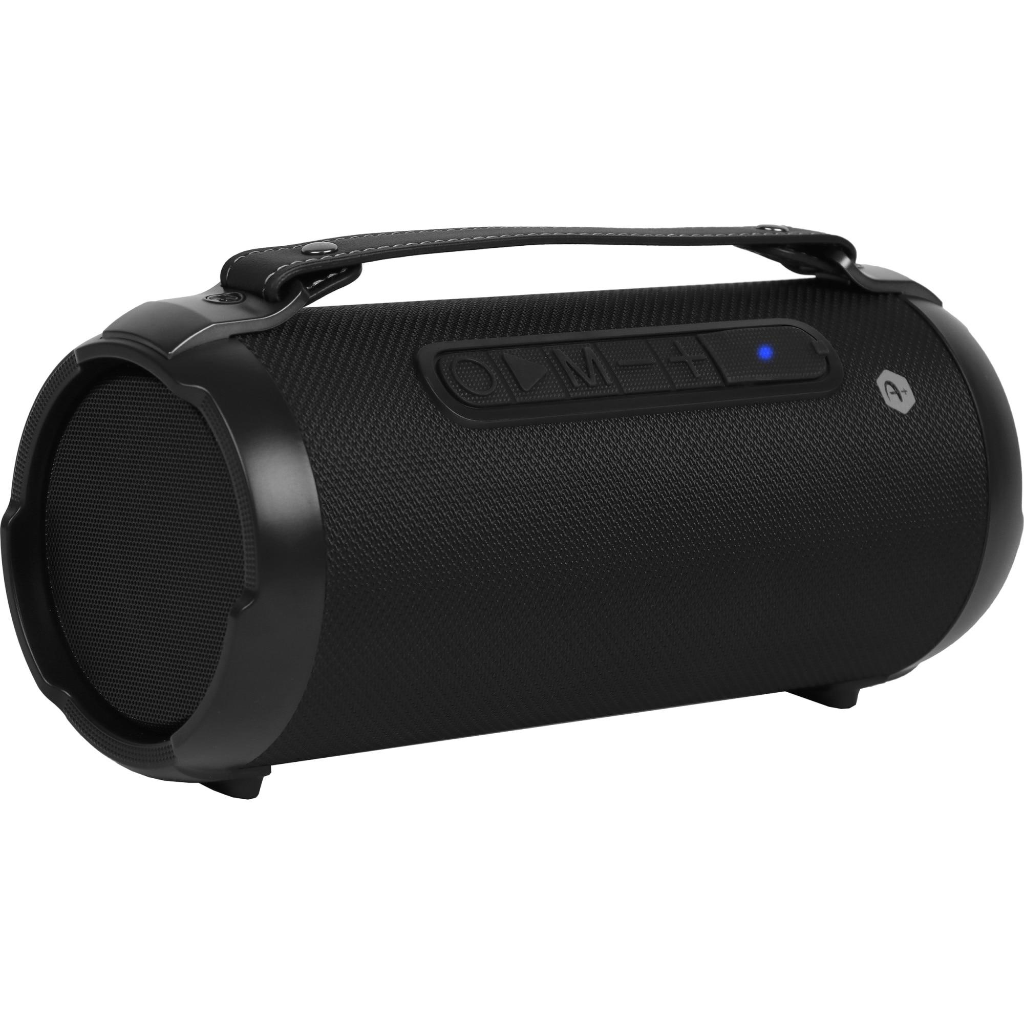 Fotografie Boxa portabila bluetooth A+ Jump, 12W, micro SD, USB port negru