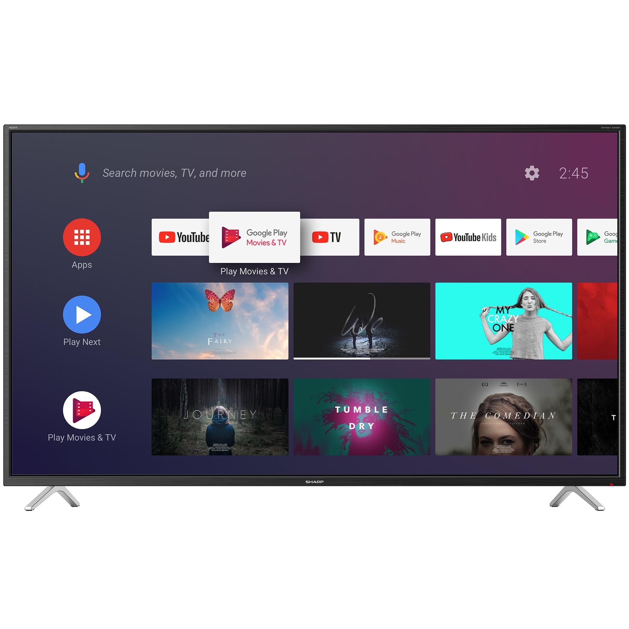Fotografie Televizor Smart Android LED Sharp 126 cm, 50BL2EA, 4K Ultra HD, Clasa A+