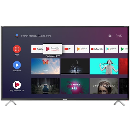 """Телевизор Smart Android LED Sharp, 55"""" (139 см), 55BL2EA, 4K Ultra HD"""