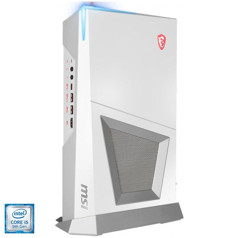 Fotografie Sistem Desktop PC Gaming MSI Trident 3 Arctic 9SC-408EU cu procesor Intel® Core™ i5-9400F pana la 4.10 GHz, Coffee Lake, 16GB DDR4, 512GB SSD M.2 PCIe, GeForce® RTX 2060 6GB GDDR6, Microsoft Windows 10, White