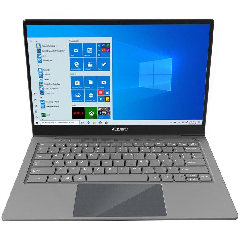 "Fotografie Laptop ultraportabil Allview Allbook Q cu procesor Qualcomm® Snapdragon™ 835 pana la 2.45 GHz, 13.3"", Full HD, IPS, 4GB, 64GB UFS 2.1, 4G, Qualcomm® Adreno™ 540, Windows 10 Home"
