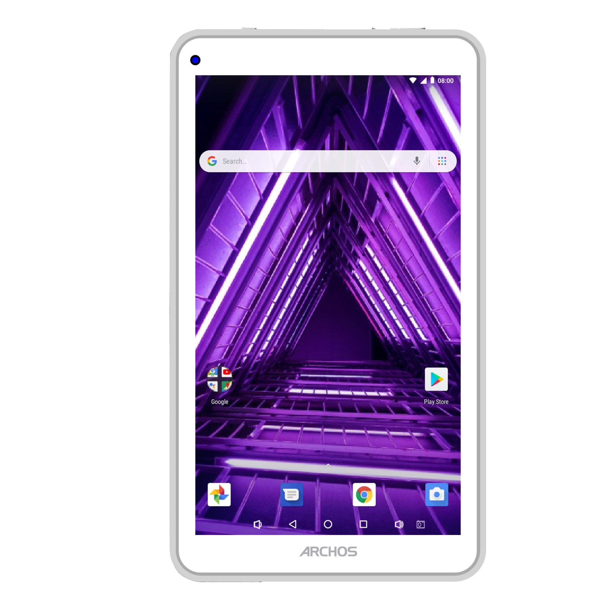 "Fotografie Archos Access 70 Wi-Fi tablet, 7"" TN, Quad-Core 1.3GHz processor, 1GB, 16GB, Wi-Fi, Bluetooth, GPS, Android 7.0, White"