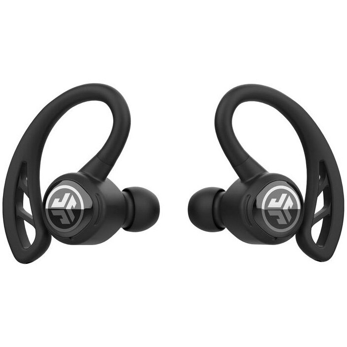Fotografie Casti Audio Sport In Ear JLAB Epic Air Sport, True Wireless, Bluetooth, Microfon, Autonomie 10 ore, Negru