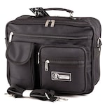 Bellugio fekete férfi táska #6106