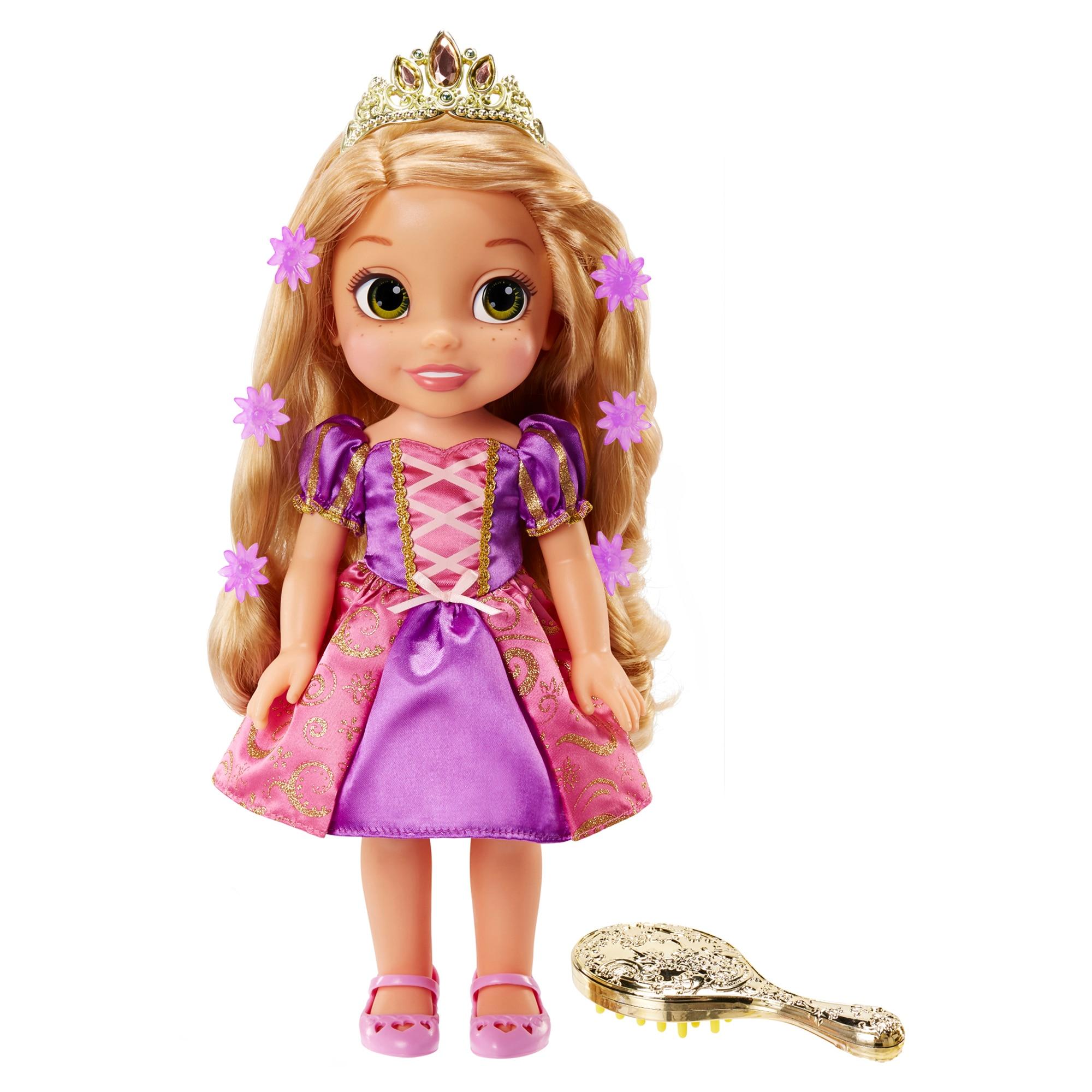 Fotografie Papusa Rapunzel cu par magic