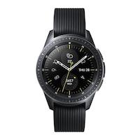 Samsung R810 Galaxy Watch 42mm Fekete Okosóra
