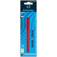 Schneider Unicolor Töltőtoll, 2 tintapatron, Piros