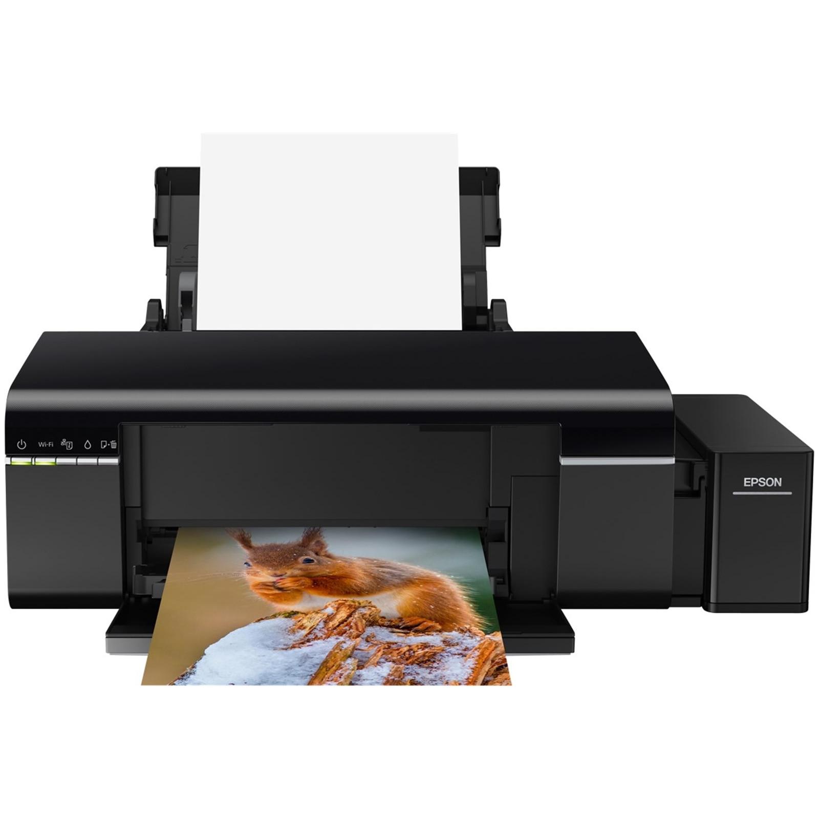 Fotografie Imprimanta InkJet Color Epson L805 CISS, A4, Wireless