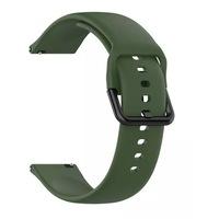 Каишка за часовник smartwatch Samsung Galaxy Watch Active, 20 mm цвят зелен