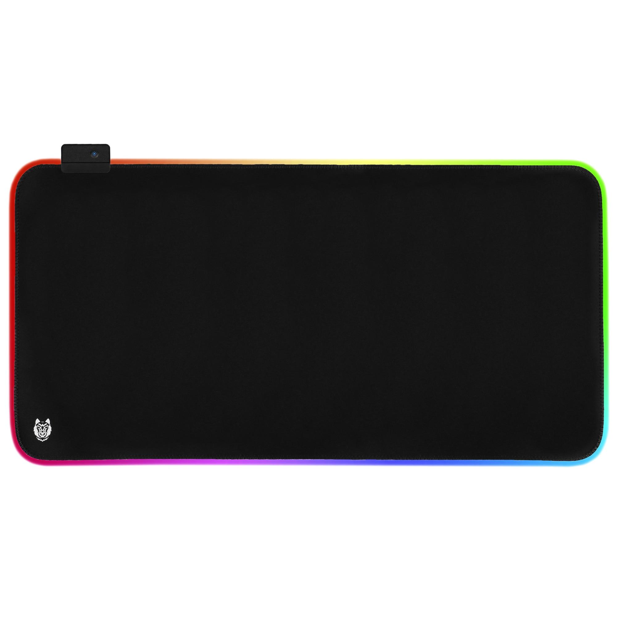 Fotografie Mousepad Gaming A+Nezha, iluminat , 800*300*4 mm