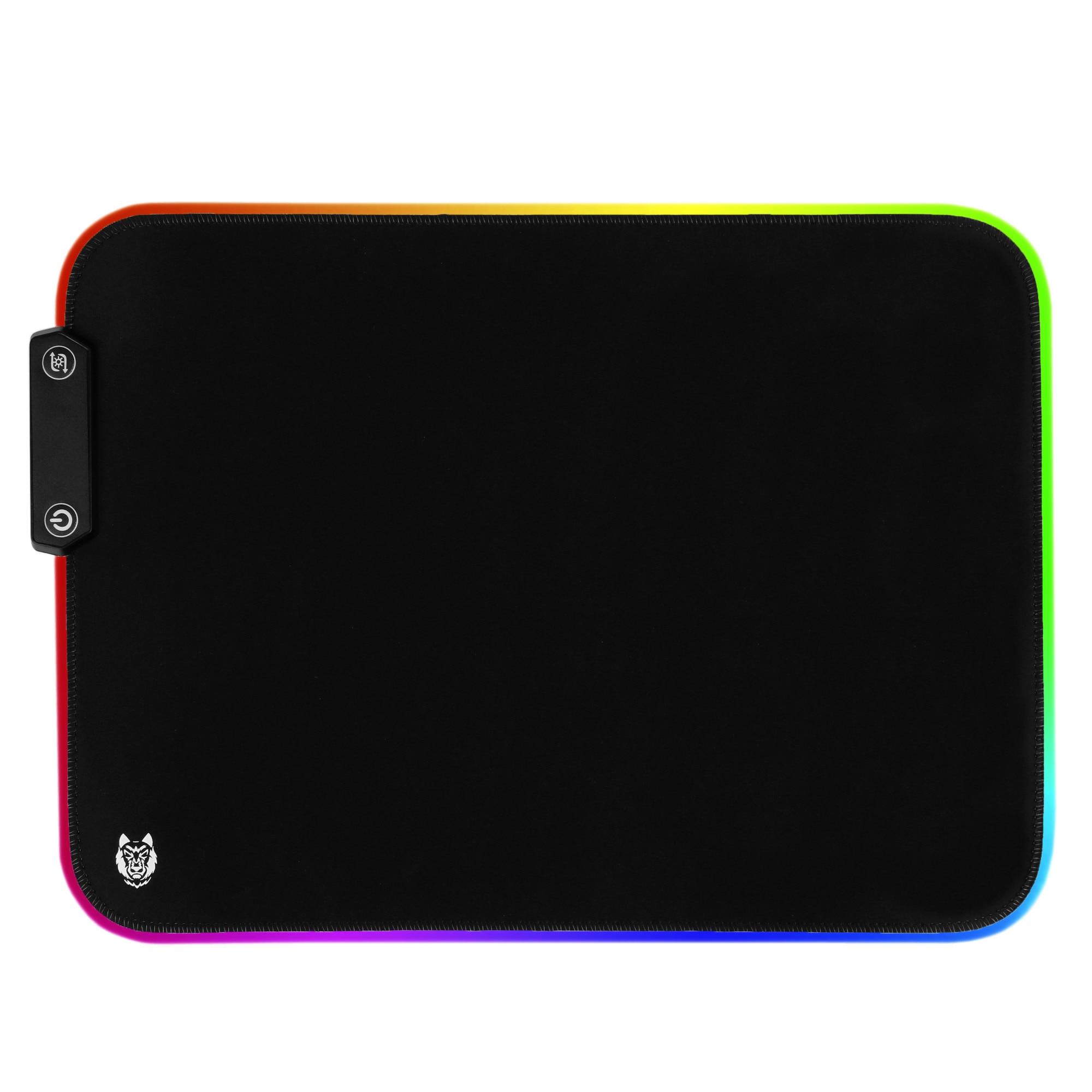 Fotografie Mousepad Gaming A+ Kuan, iluminat, 360*260*3 mm
