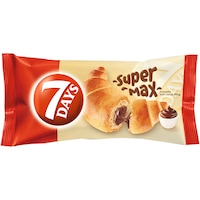 Croissant cu crema de cacao Super Max 110g 7Days