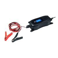 Auto XS Medion 6V motor / 12V autó mikroprocesszor vezérelt digitális akkutöltő, 3,8A akkumulátor töltő, munkaakkumulátor töltő, csepptöltő