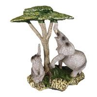 Декоративна фигура на слонове под дърво