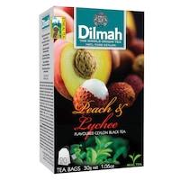 Dilmah Tea, Peach-Lychee, (Barack és Licsi) 30G