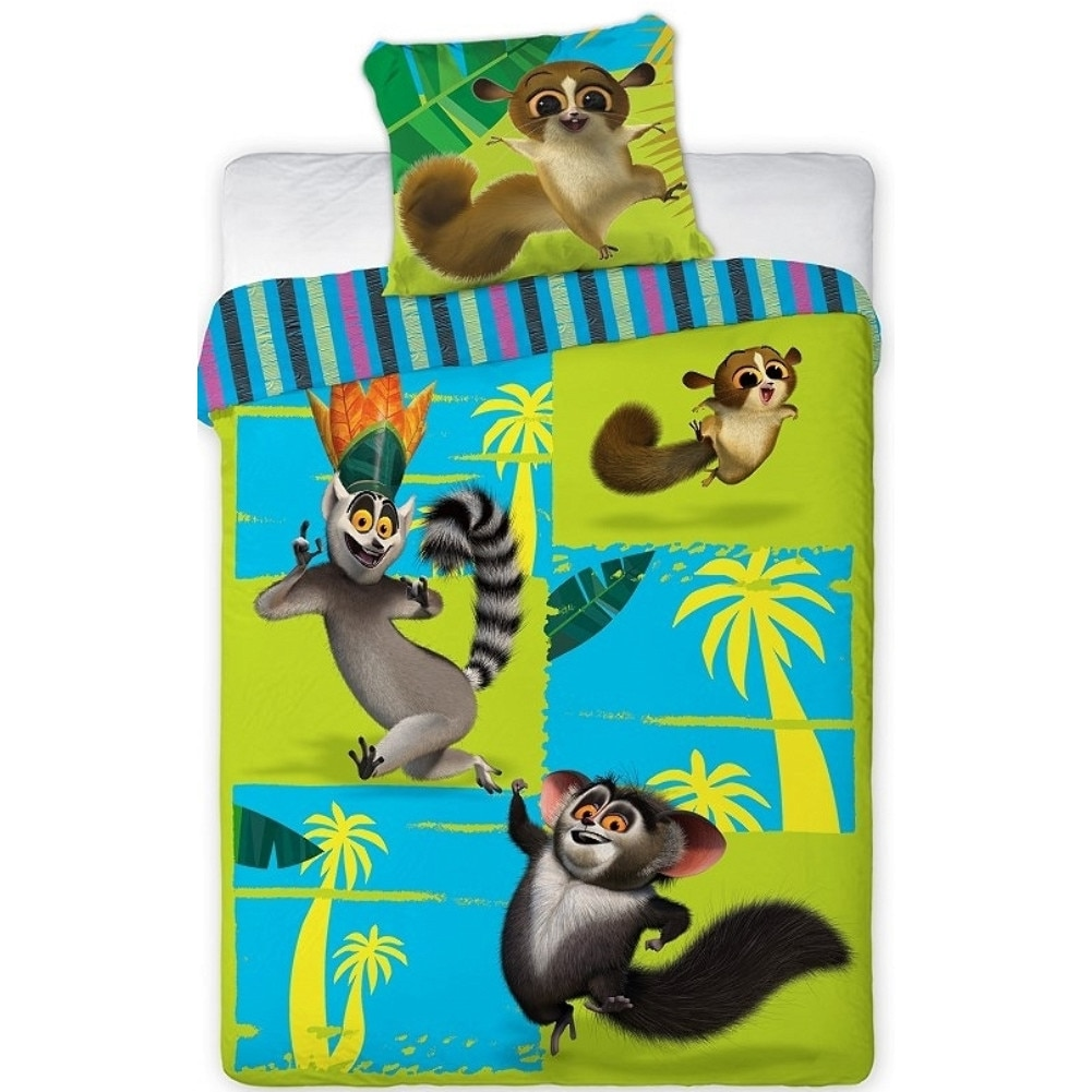 Tom és Jerry mintás ágyneműhuzat, 2 részes, pamut