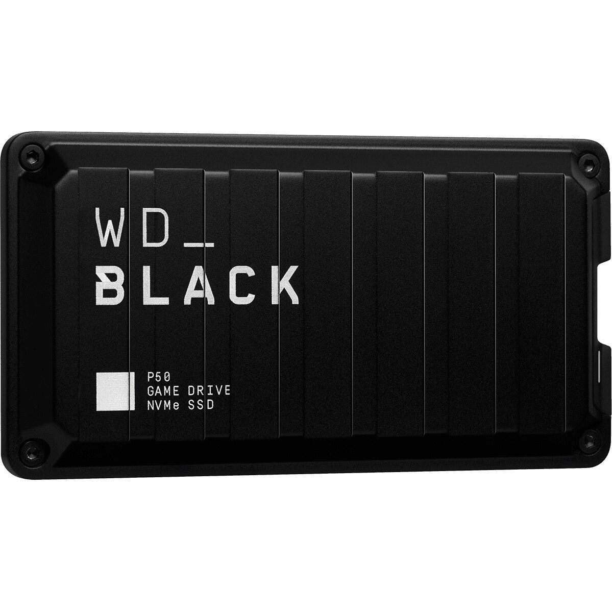 Fotografie SSD Extern WD Black P50 Game Drive 2TB, USB 3.2 Gen2x2 Type-C