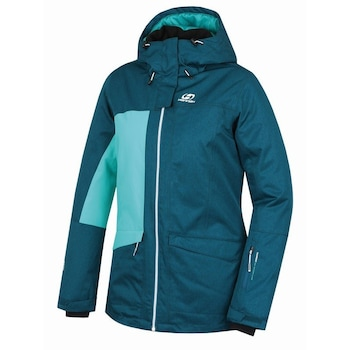 Дамско яке за ски и сноуборд Hannah Rolf deep teal mel, синьо-зелено, 36