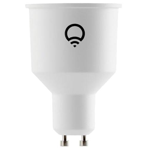 Fotografie Bec LED inteligent LIFX Colour and White, Wi-fi, GU10, 6W, 400 lm, A++, lumina alba/color