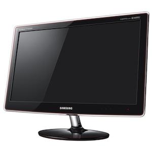 Monitor / TV LCD Samsung 23'', Wide, TV Tuner, Full HD, DVI, HDMI, Boxe, Negru Lucios, P2370HD