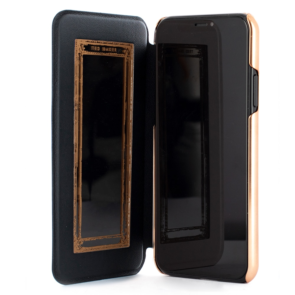 Fotografie Husa de protectie Ted Baker Book Shannon Mirror Folio pentru Apple iPhone 11 Pro, Black