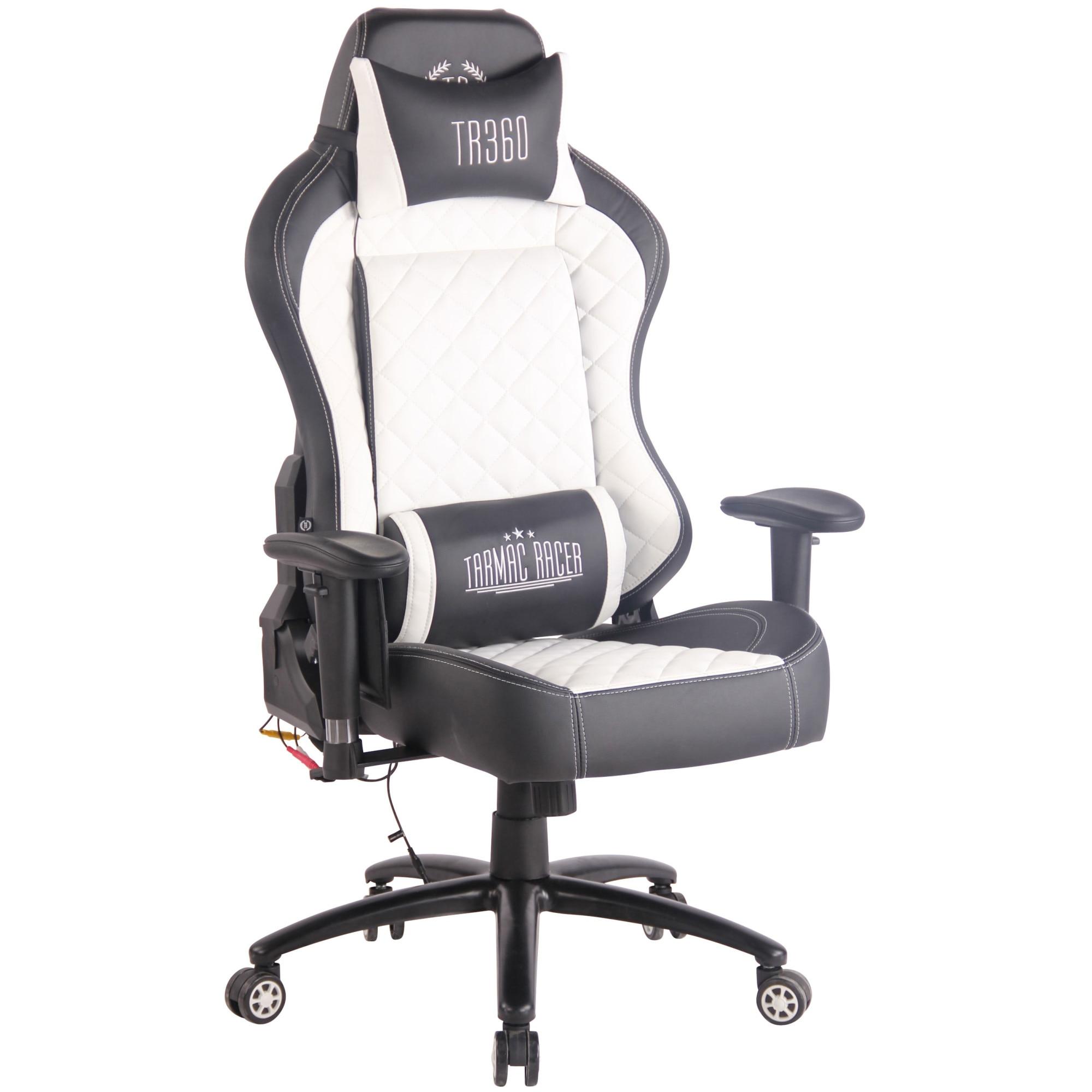 Rapid Extra gamer szék fehér eMAG.hu