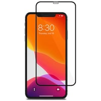 Folie de protectie sticla 9D iPhone 11 Pro Neagra