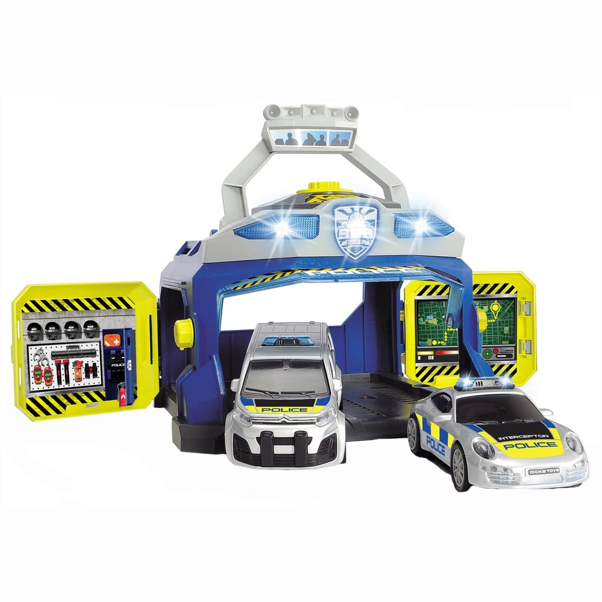 Fotografie Set de joaca Dickie Toys - Centrul de comanda al politiei