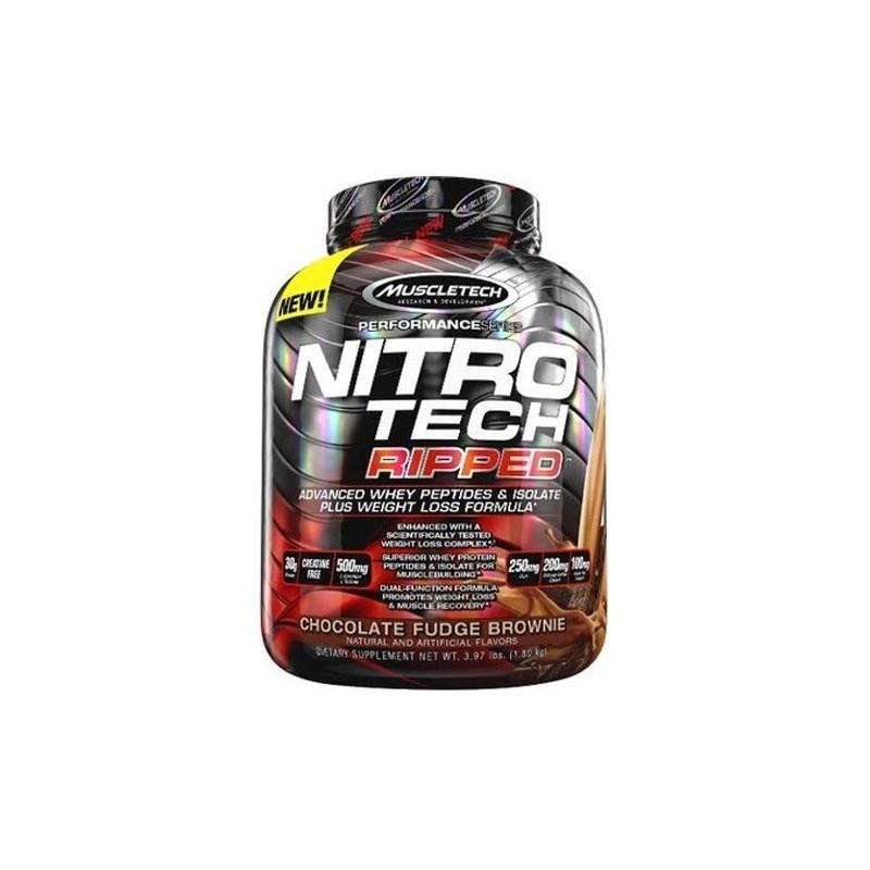 NITROTECH RIPPED in | Nitro tech, Muscletech, Nitro, Pierdere în greutate nitro tech