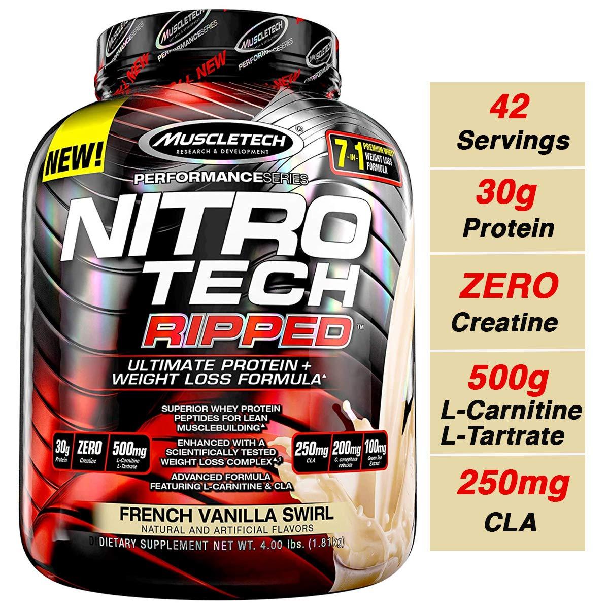 nitro tech whey pentru pierderea în greutate
