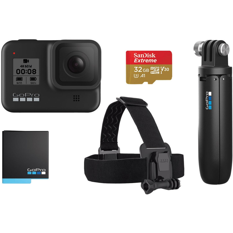 Fotografie Camera video sport GoPro Hero8 Black Bundle