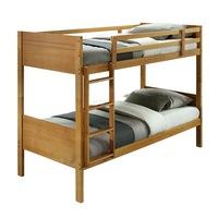 Makira emeletes ágy Tömör fa Tölgy 207x96x164 cm