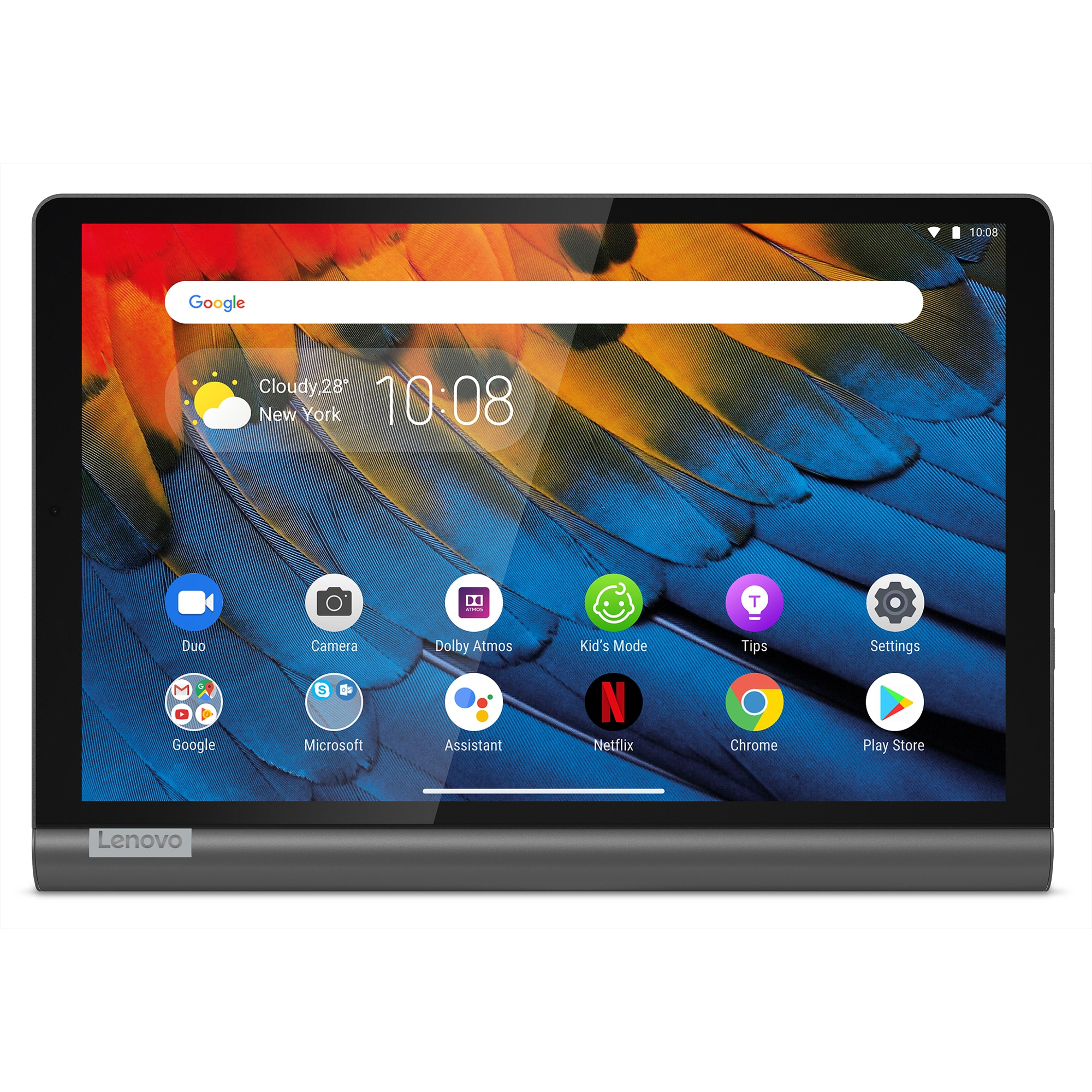 "Fotografie Tableta Lenovo Yoga Smart Tab, Octa-Core, 10.1"", 3GB RAM, 32GB, 4G, Iron Grey"