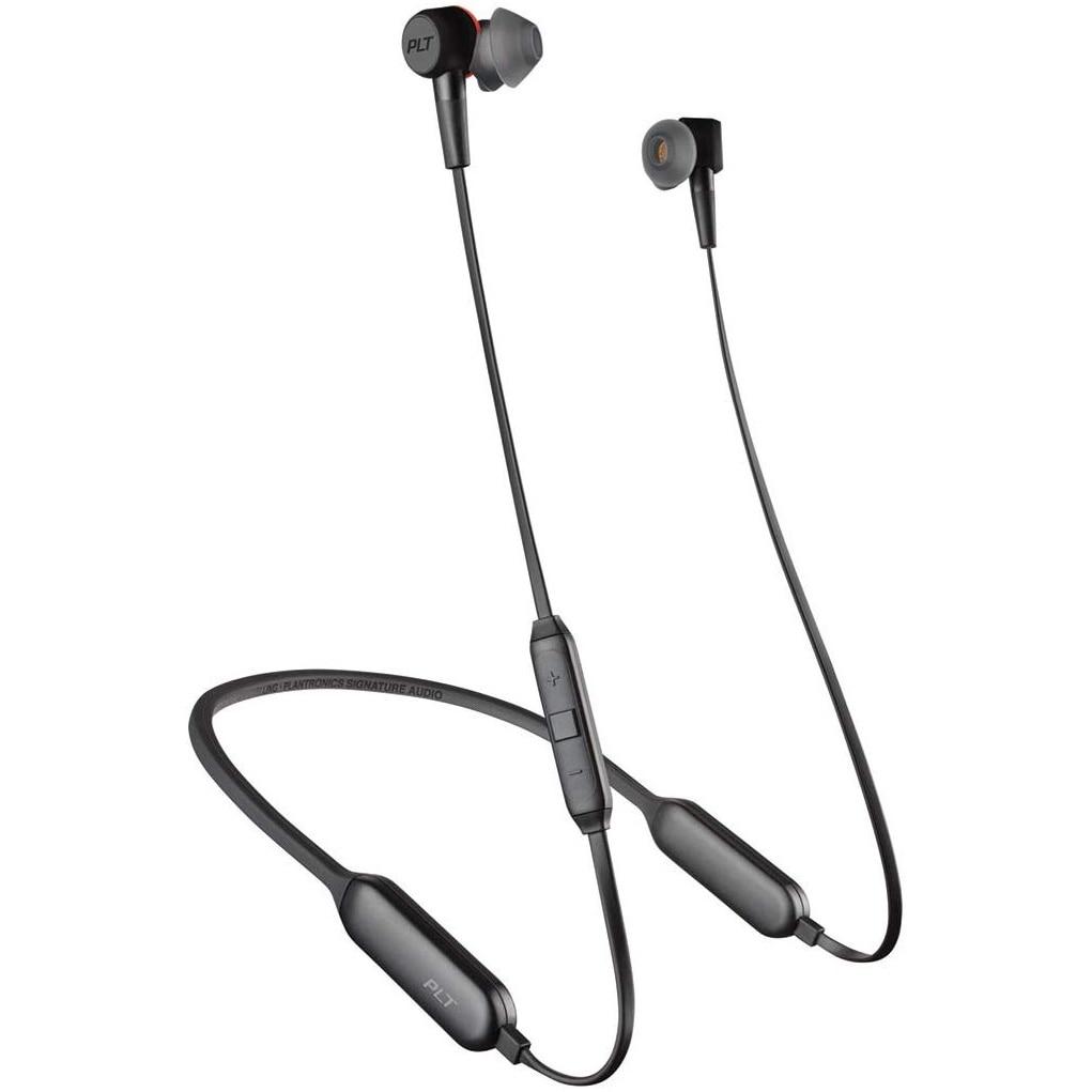 Fotografie Casti Sport Bluetooth Plantronics BackBeat GO 410, Dual-Mode ANC - Active Noise Canceling, Sweatproof, Graphite
