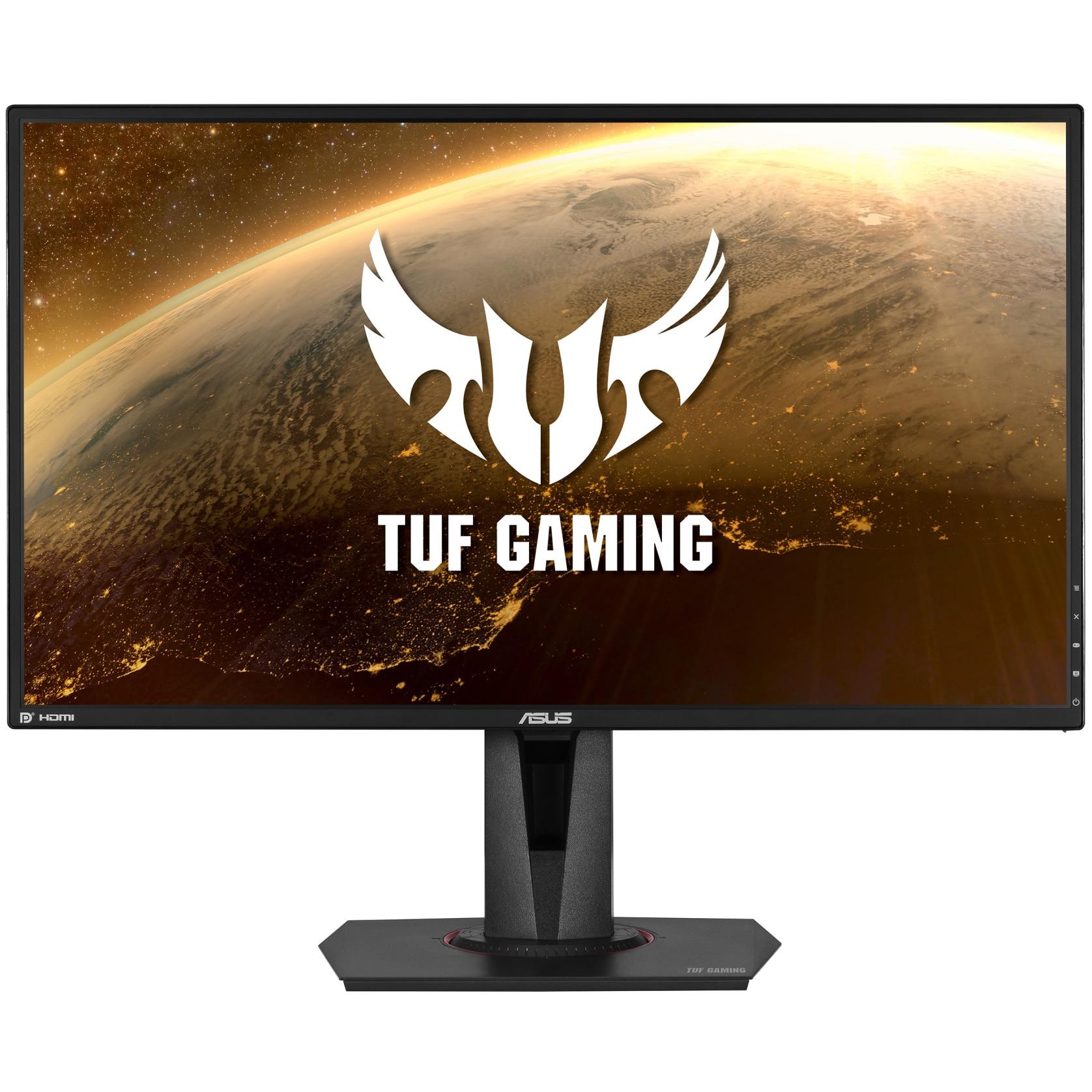 "Fotografie Monitor gaming LED IPS Asus TUF 27"", WQHD, DisplayPort, 1ms, 165Hz, G-Sync, HDR-10, Negru, VG27AQ"