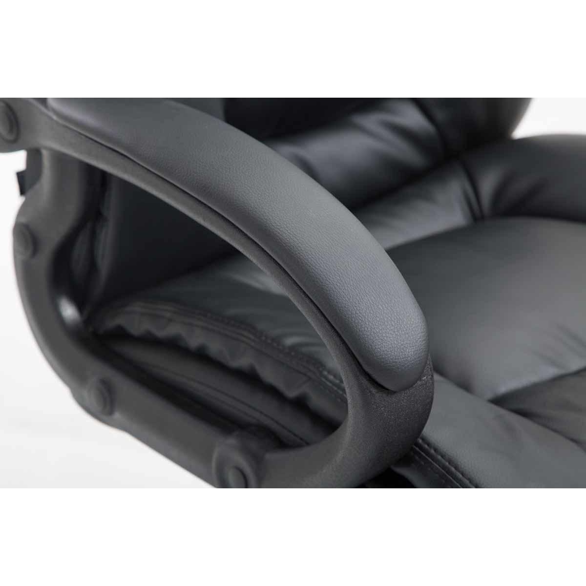 Sparta XL extra kényelmes főnöki szék (140 kg), fekete eMAG.hu