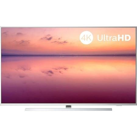 Televizor Philips 4K, Smart TV , Ambilight, 164 cm, HDR10+, Argintiu