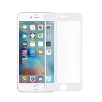 Иновативен стъклен 5D протектор за целият дисплей за iPhone 6s, Закалено стъкло, Цяло лепило, Tech Armor, Бял