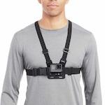 Универсална стойка за гърди GARV™ за захващане на екшън камери + приставка J-Hook