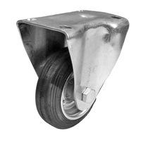 Колело Стационарно Индустриално PREMIUMFIX, 100мм гума, до 120кг , за Контейнери, Багажни и Товарни колички и др.