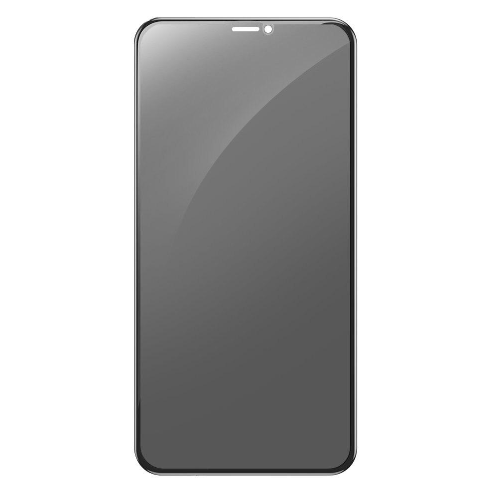 Fotografie Folie de protectie 3D Devia Full Screen Privacy pentru iPhone 11 Pro Max, / Xs Max, Black