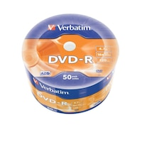 Verbatim DVD-R [ wrap 50db   4,7GB   16x   Matt Silver   AZO ] DVD lemez