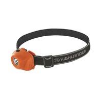Highlander Tölthető fejlámpa 1 LED Narancssárga
