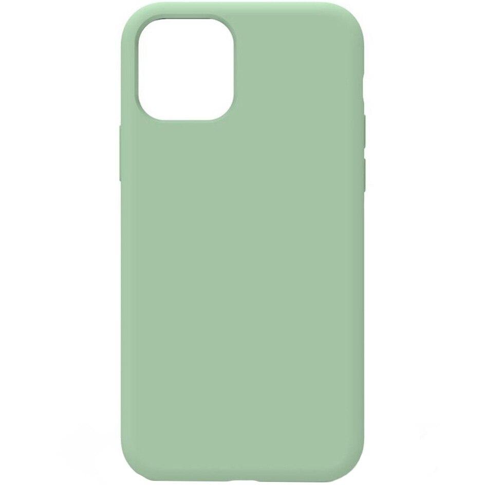 Fotografie Husa Lemontti Liquid pentru iPhone 11 Pro, protectie 360°, Silicon, Light Green