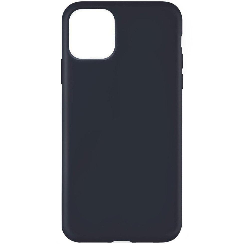 Fotografie Husa Lemontti Liquid pentru iPhone 11 Pro, protectie 360°, Silicon, Dark Blue