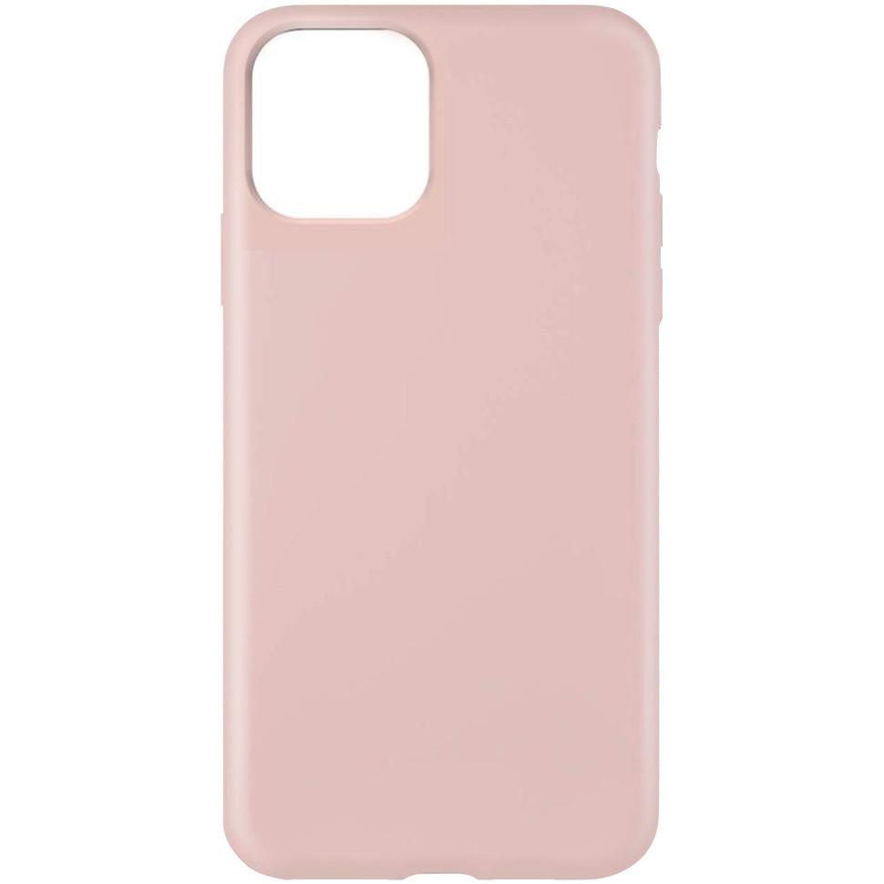 Fotografie Husa Lemontti Liquid pentru iPhone 11 Pro, protectie 360°, Silicon, Pink Sand