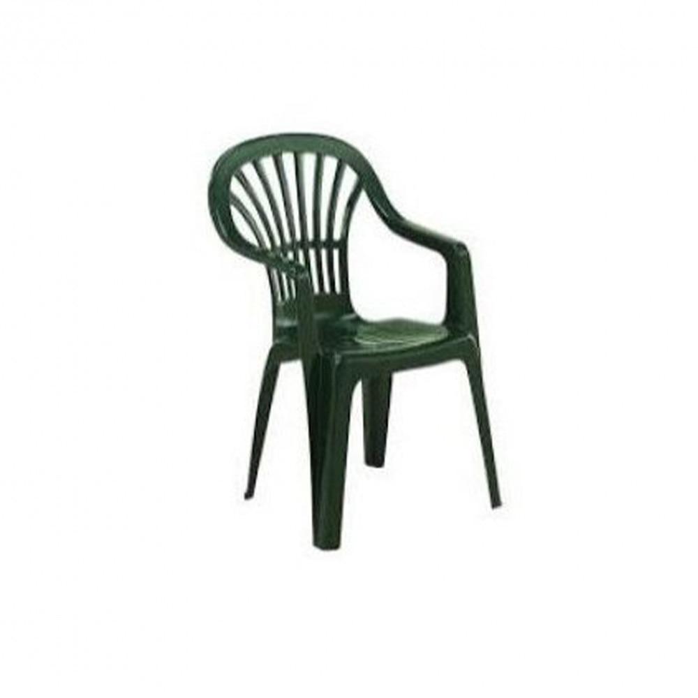 Zena magastámlás szék zöld színben