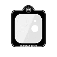 Folie camere spate iPhone 11 - Tempered Glass Nano 9H 3D - UltraThin Transparent