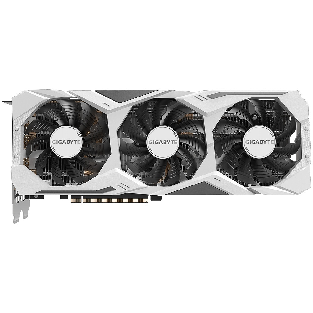 Fotografie Placa video Gigabyte GeForce® RTX 2080 SUPER™ GAMING OC WHITE, 8GB, GDDR6, 256-bit